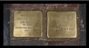 Unter Anteilnahme zahlreicher Güstrower Bürger und in Anwesenheit von Adolf-Abraham-Grossmann wurden Stolpersteine  verlegt