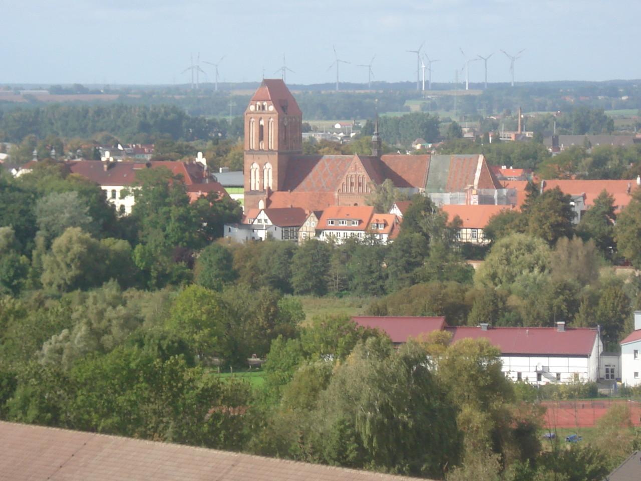 Blick nach Nord-West auf den Dom.