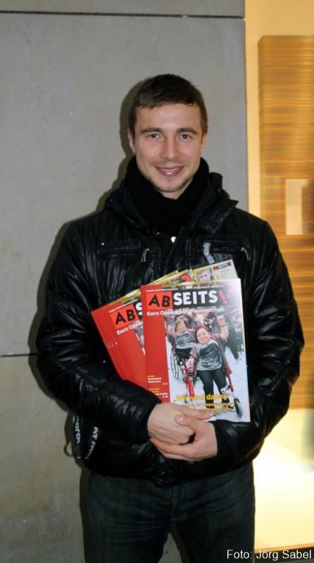 Fussballprofi Paul Thomik