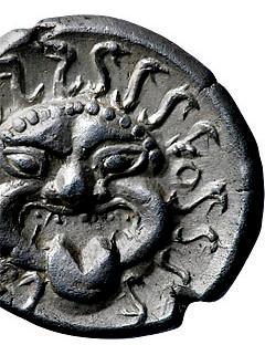 Grecia, Tracia, Apollonia Pontica, V sec aC, AR Dracma (15mm 3,35g), collezione privata