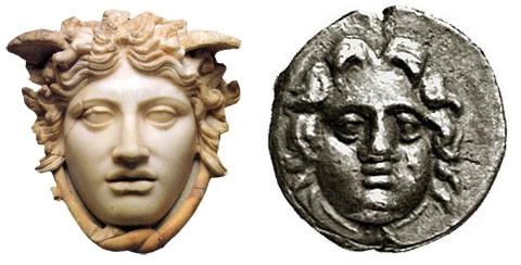 Medusa Rondanini, Monaco, Staatliche Antikensammlungen und Glyptothek / Asia Minore, Pisidia, Selge, AR Obolo