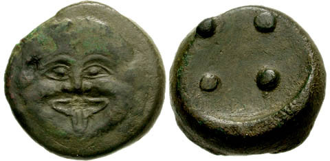 Trias 19,57 g. - Classical Numismatic Group - Electronic Auction 148 - 20 September 2006, Lot n. 105