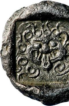 Asia Minore, Troas, Kebren, V sec aC, AR Triobolo (10mm 1,82g), collezione privata