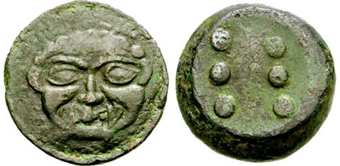 Hemilitra, 27,58 g. - Classical Numismatic Group - Mail Bid Sale 67 - 22 September 2004, Lot n. 255