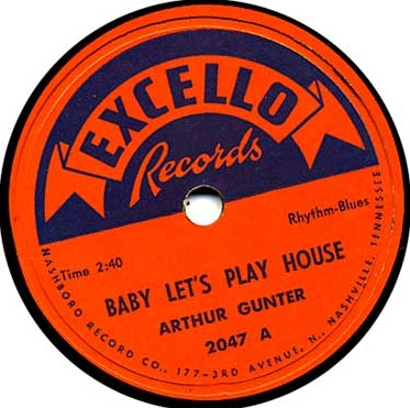 BABY LET'S PLAY HOUSE - ARTHUR GUNTER