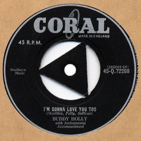 Buddy Holly - I'm Gonna Love You Too - Coral UK