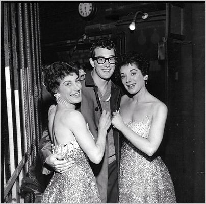 Buddy and the Tanner Sisters, March, 1958