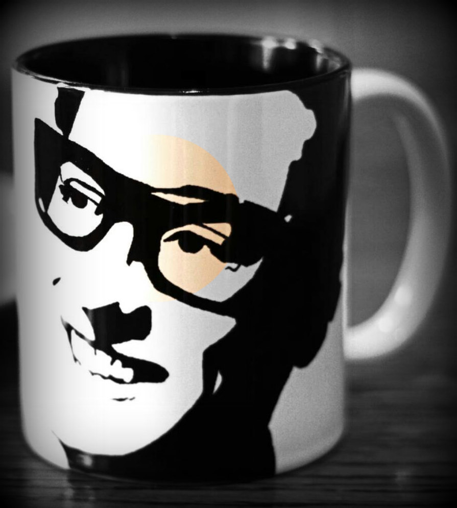 Have a cup of Buddy Holly coffee