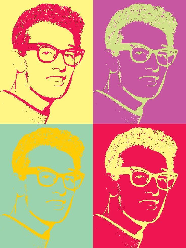 Buddy Art - Andy Warhol Style