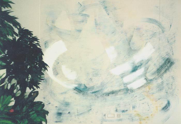 """""""Ich lebe mein Leben in wachsenden Ringen..."""" Wandgestaltung im Asklepios- Cafè -"""