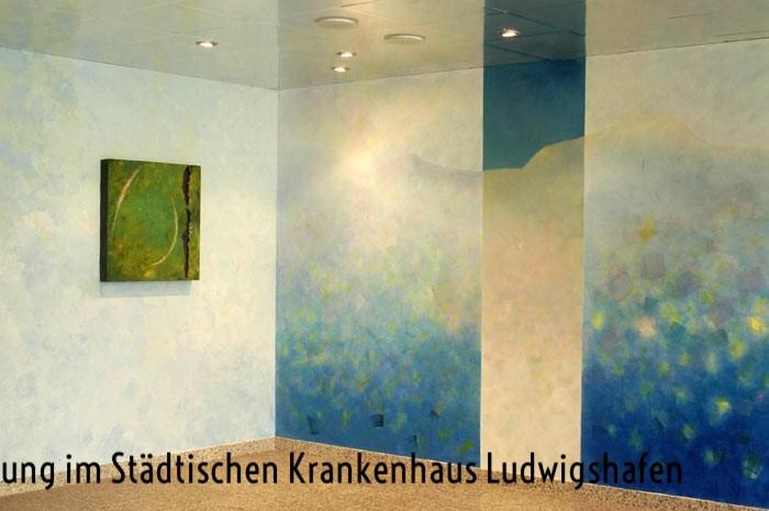 Raumgestaltung im Städtischen Klinikum Ludwigshafen