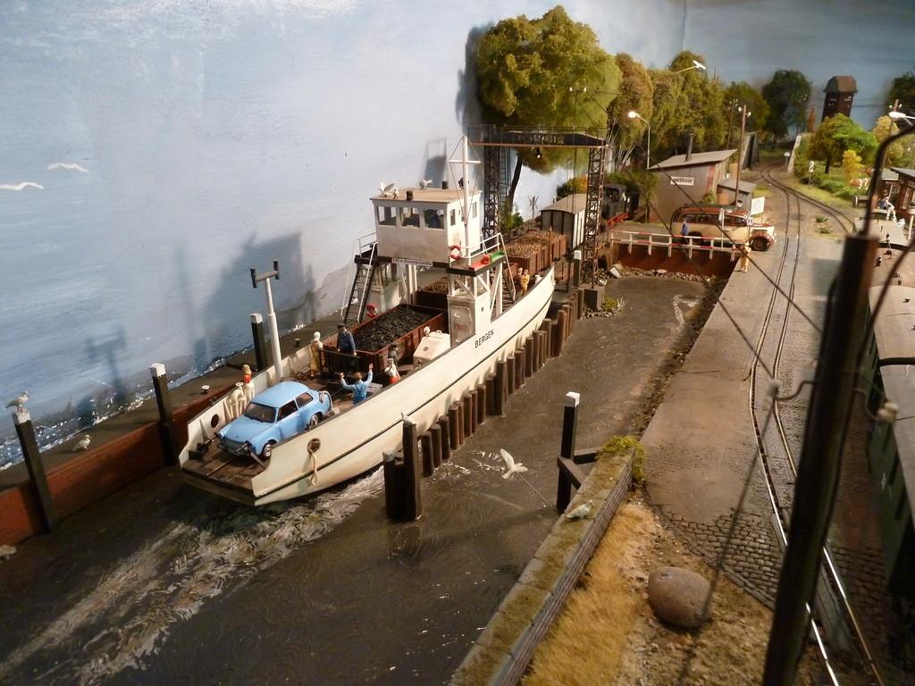 Blick aus dem Fenster des Hafenmeisters Richtung Wittow