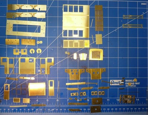 Teilesatz von EMW