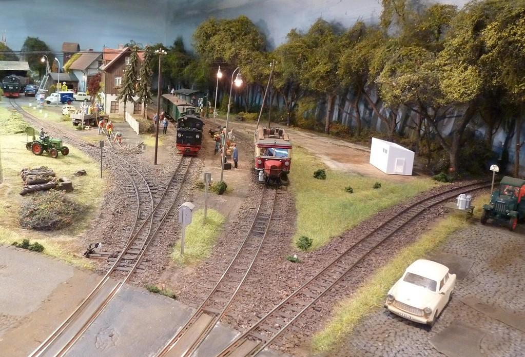 Der Bahnhof Weilrode