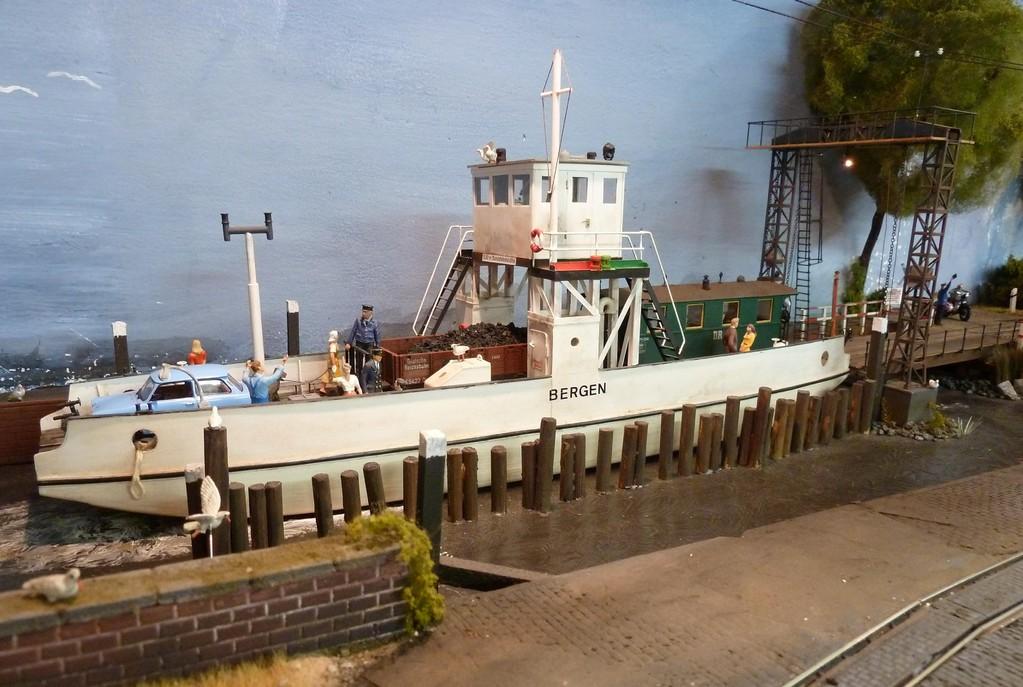 Das Fährschiff Bergen