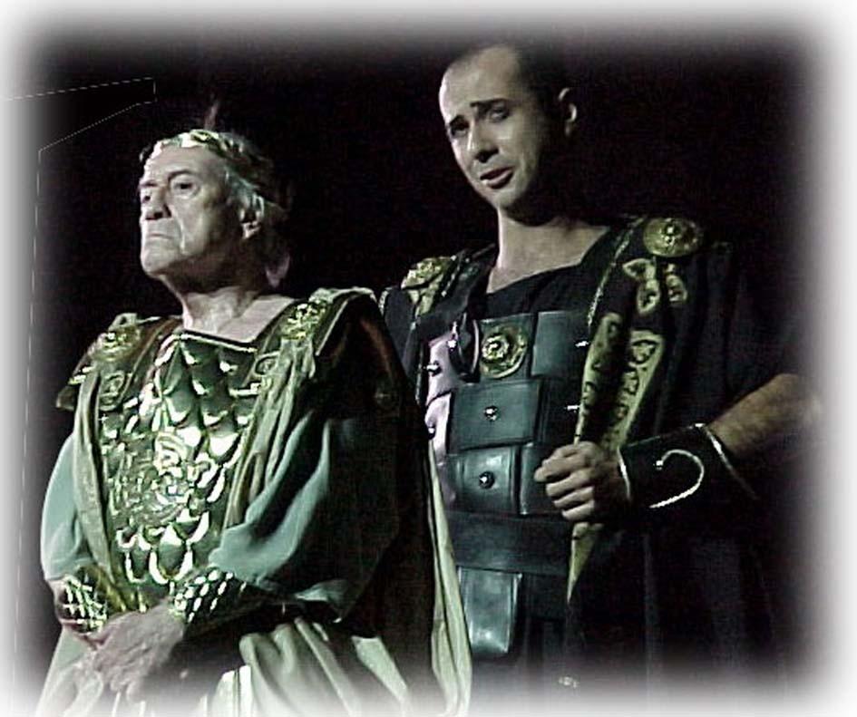 César y Cleopatra