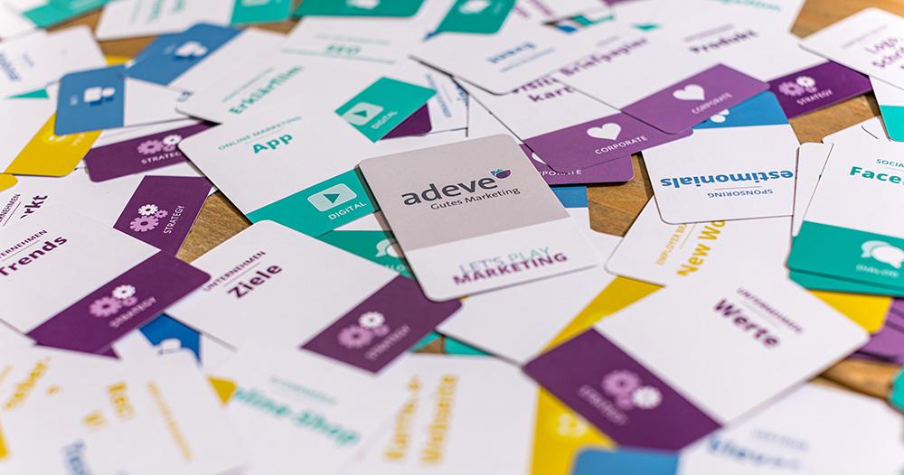 Marketing-Mix Kartenspiel