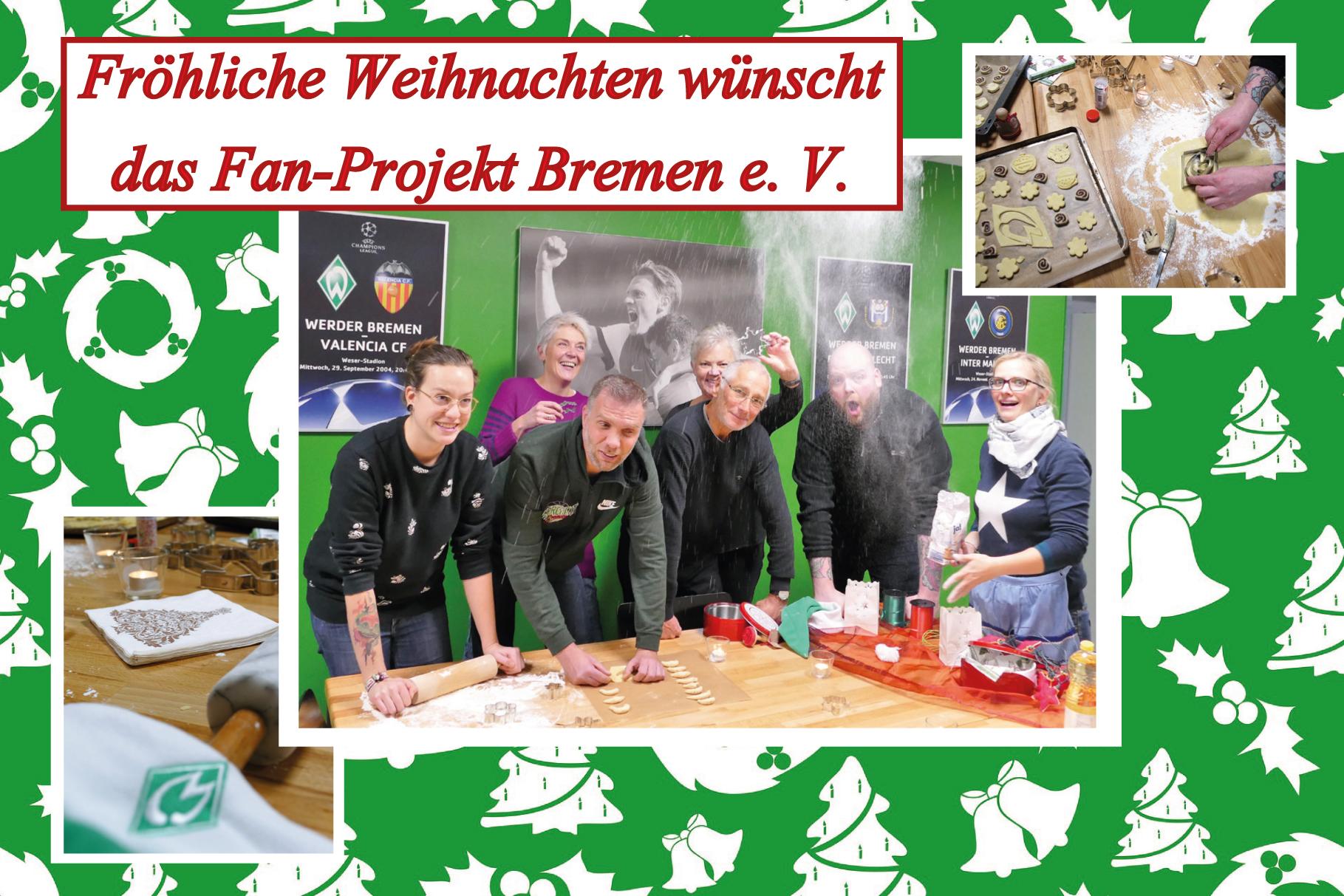 Frohe Weihnachten Werder Bremen.Frohliche Weihnachten Fanprojekt Bremens Webseite
