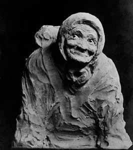 (1) Перелётная птица (старуха-странница) (1906г.)