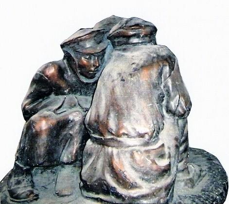 (20) Беспризорники (три ракурса) (1927г.)
