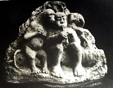 (16) Лесная идиллия (1908г.)
