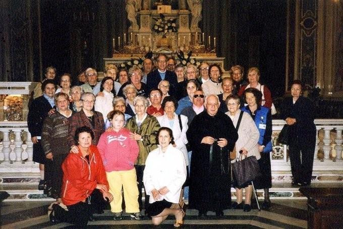 18°) (Foto del 2007) Nel Santuario della Guardia di Genova si festeggia il 30° anno.