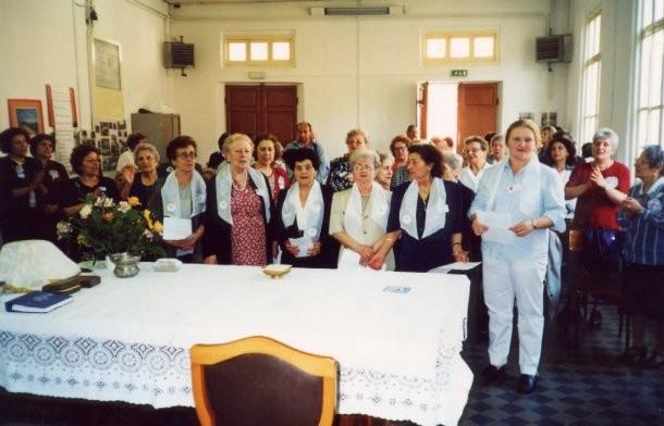 13°) (Foto del 2002) Festa del 25° del Gruppo e giornata di Effusione.