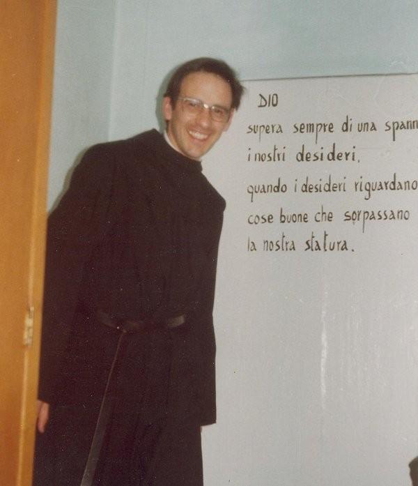 1°)   (Foto del 1978) Padre Luigi Kerschbamer, Agostiniano Scalzo.