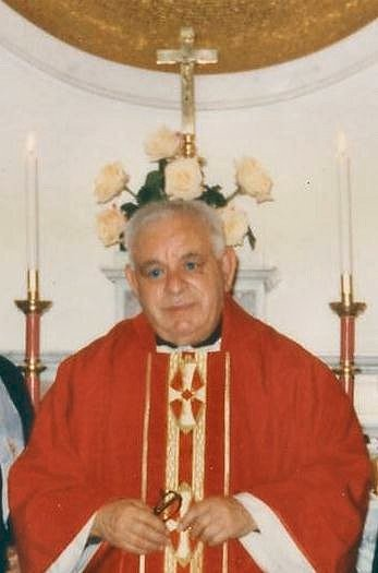 2°)   (Foto del 2005) Padre Pietro Pastorino, confratello di Padre Luigi.