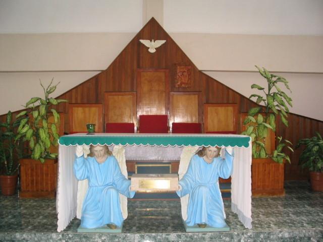 7°) Interno della Cappella...