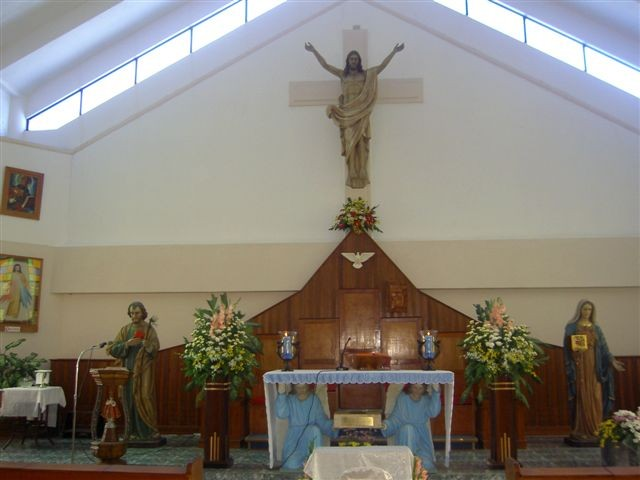 9°) Interno della Cappella...
