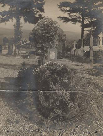 Première tombe de Ralph - First grave of Ralph