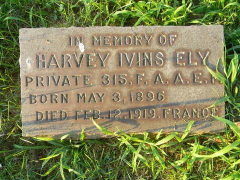 Tombe de Harvey - Harvey's grave - FindaGrave.com