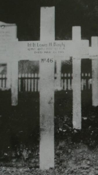 Tombe de Louis à ANCY-LE-FRANC - Louis' grave at ANCY-LE-FRANC
