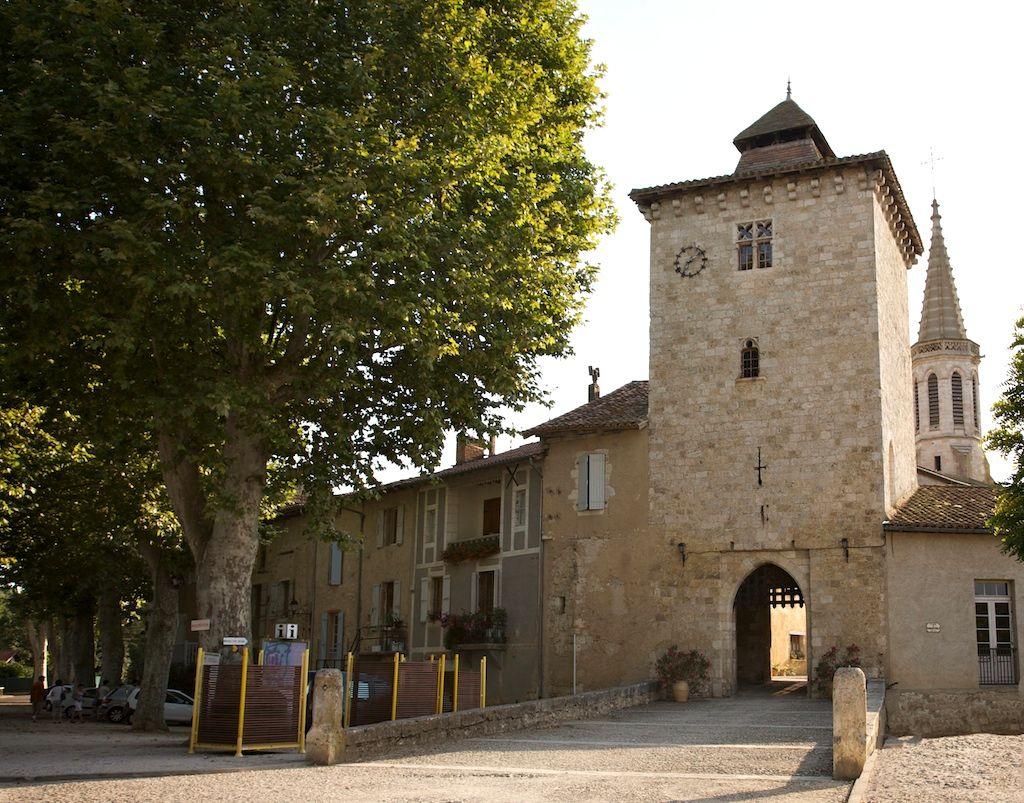 Le village de Sarrant