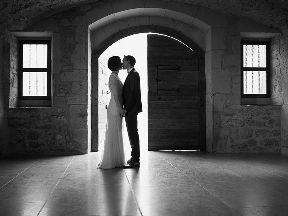 photo de Couple de Mariage dans un château à Annecy
