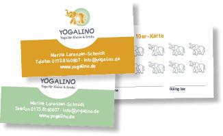 Yogakarte für Yogalino, Preise, 5er Karte, 10er Karte, Kurskarte