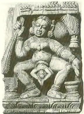 Kali gebiert das Universum (Quelle: Janet Balaskas / Yoga für werdende Mütter