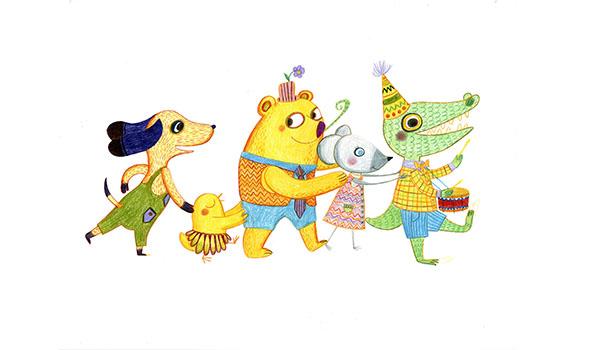 Exposition Le Bon Marché-2015-Crayons de couleur