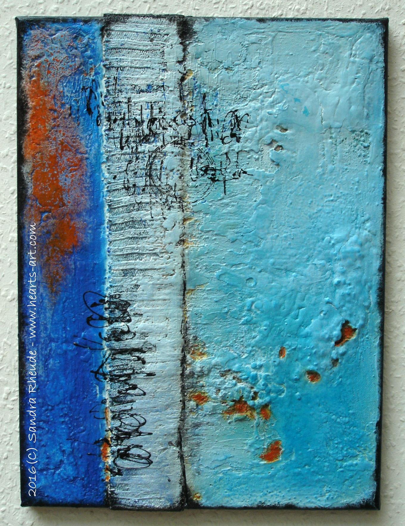 'Südlicht' - 2016/24 - Acryl/MixedMedia auf Leinwand - 30 x 40 cm - € 190