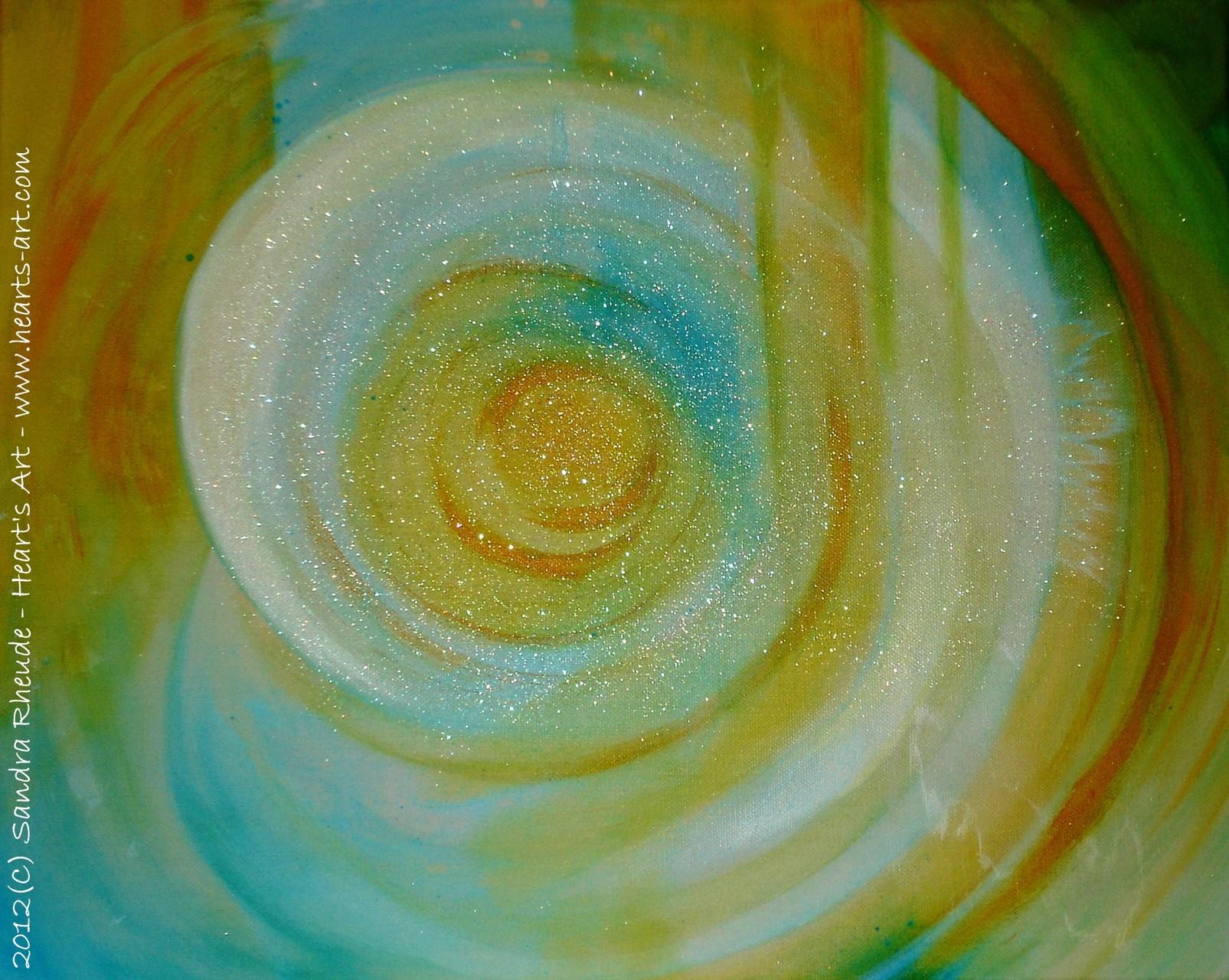 'Atlantis' - 2012/79 - Acryl auf Leinwand - 50 x 40 cm - € 170