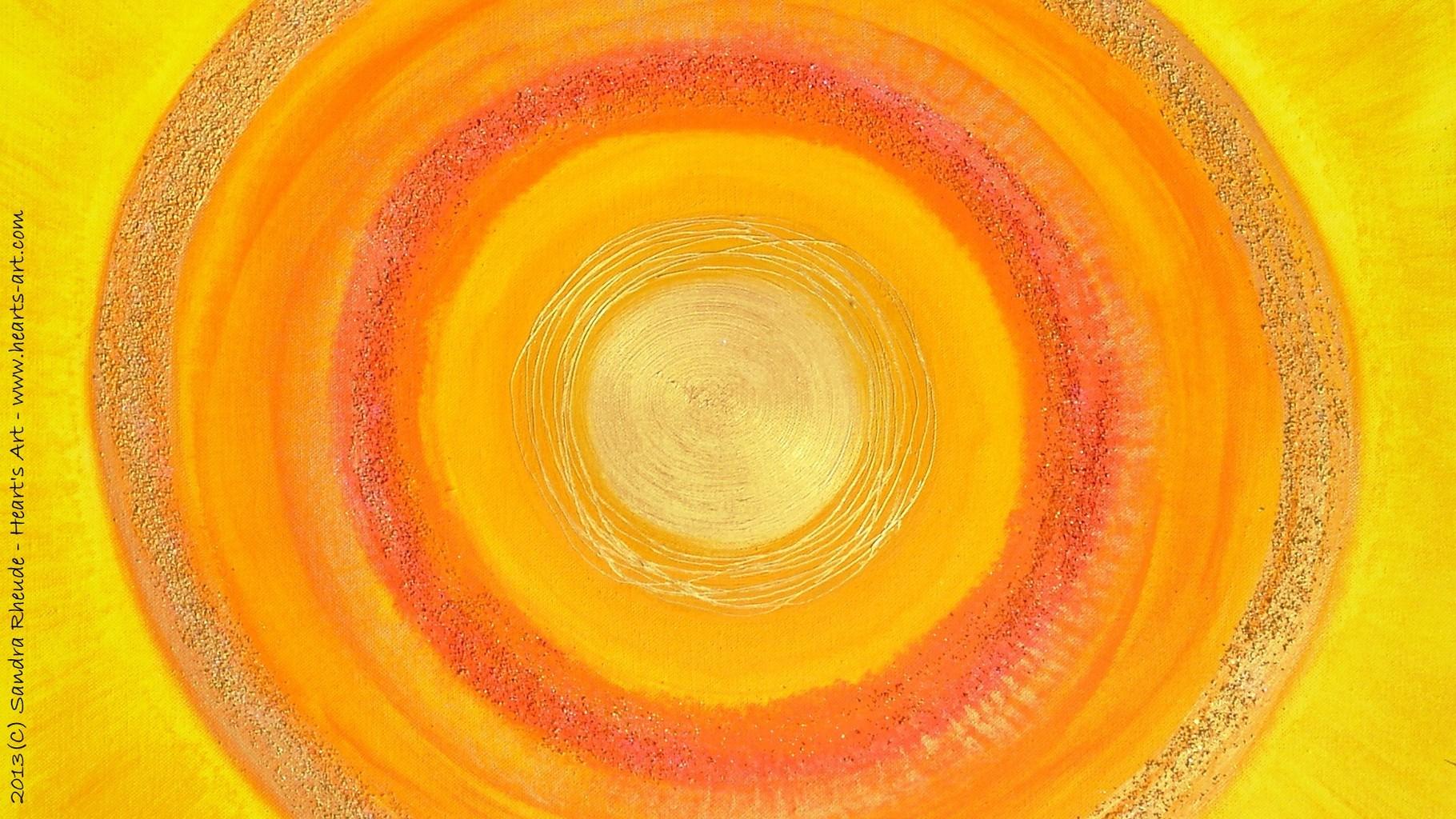 persönliches Energiebild - 70 x 50 cm