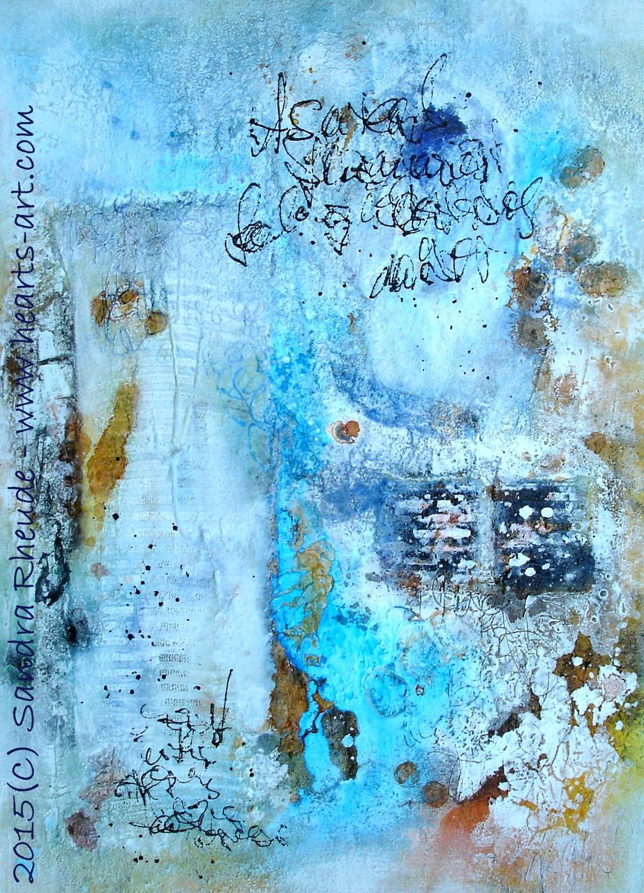 'Sommergefühl I' - 2015/25 - Acryl/MixedMedia auf Leinwand - 50 x 70 cm - € 330