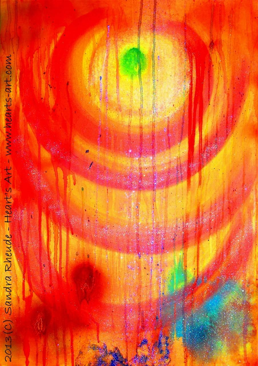 'Passion' - 2013/38 - Acryl auf Leinwand - 50 x 70 cm - verkauft
