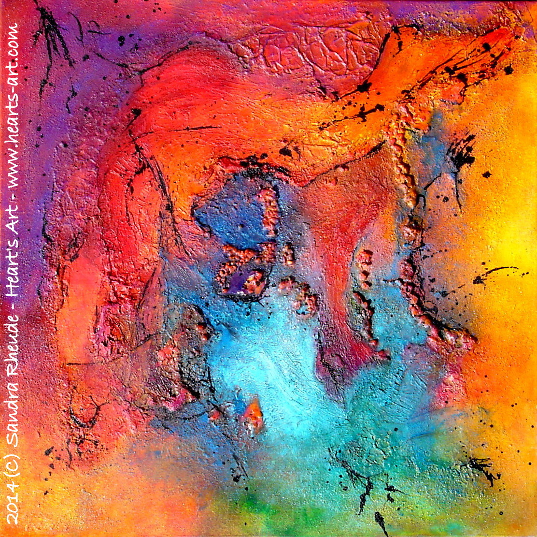 'Emotions' - 2014/35 - Acryl/MixedMedia auf Leinwand - 70 x 70 cm - € 390