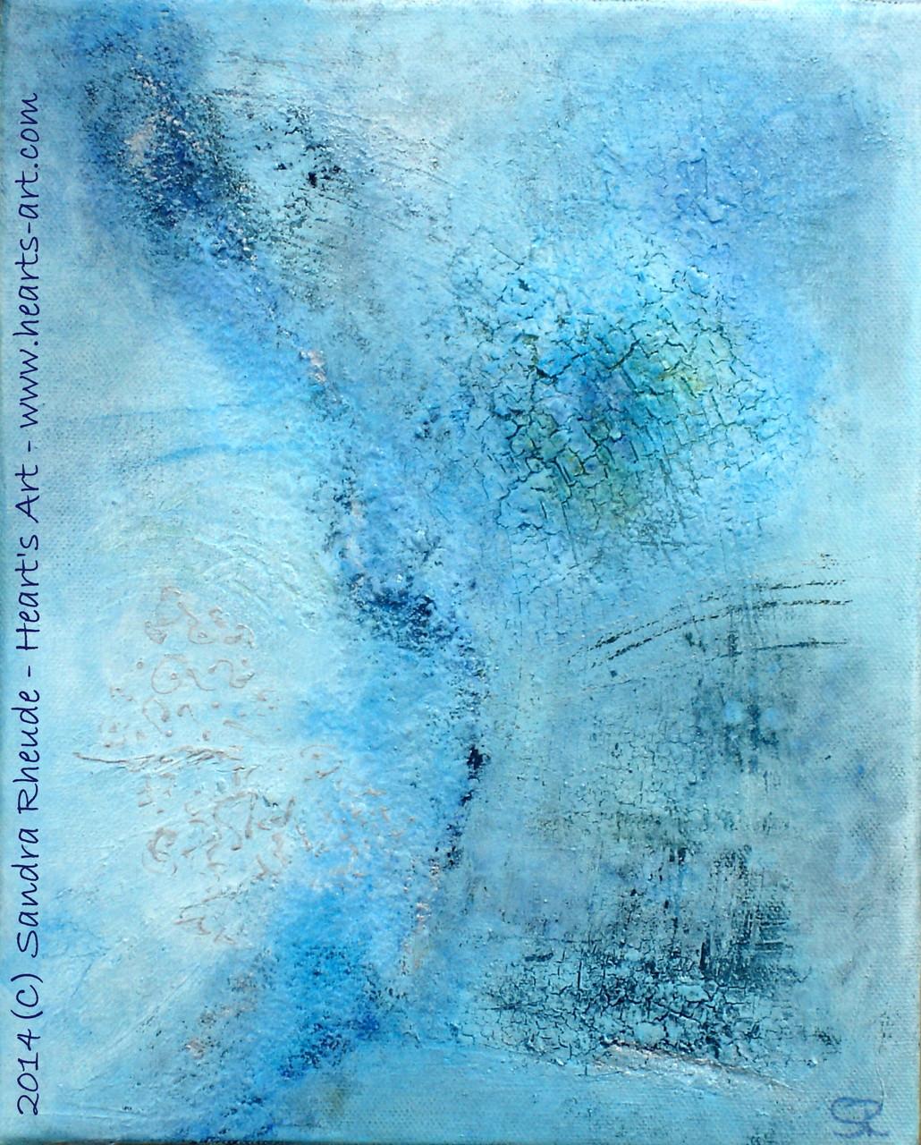 'Daydream' - 2014/32 - Acryl/MixedMedia auf Leinwand - 24 x 30 cm - € 170