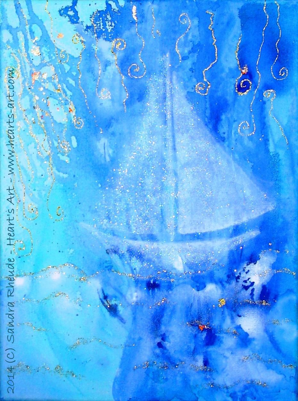 'Waterlove' - 2014/3 - Acryl auf Leinwand - 30 x 40 cm - € 140
