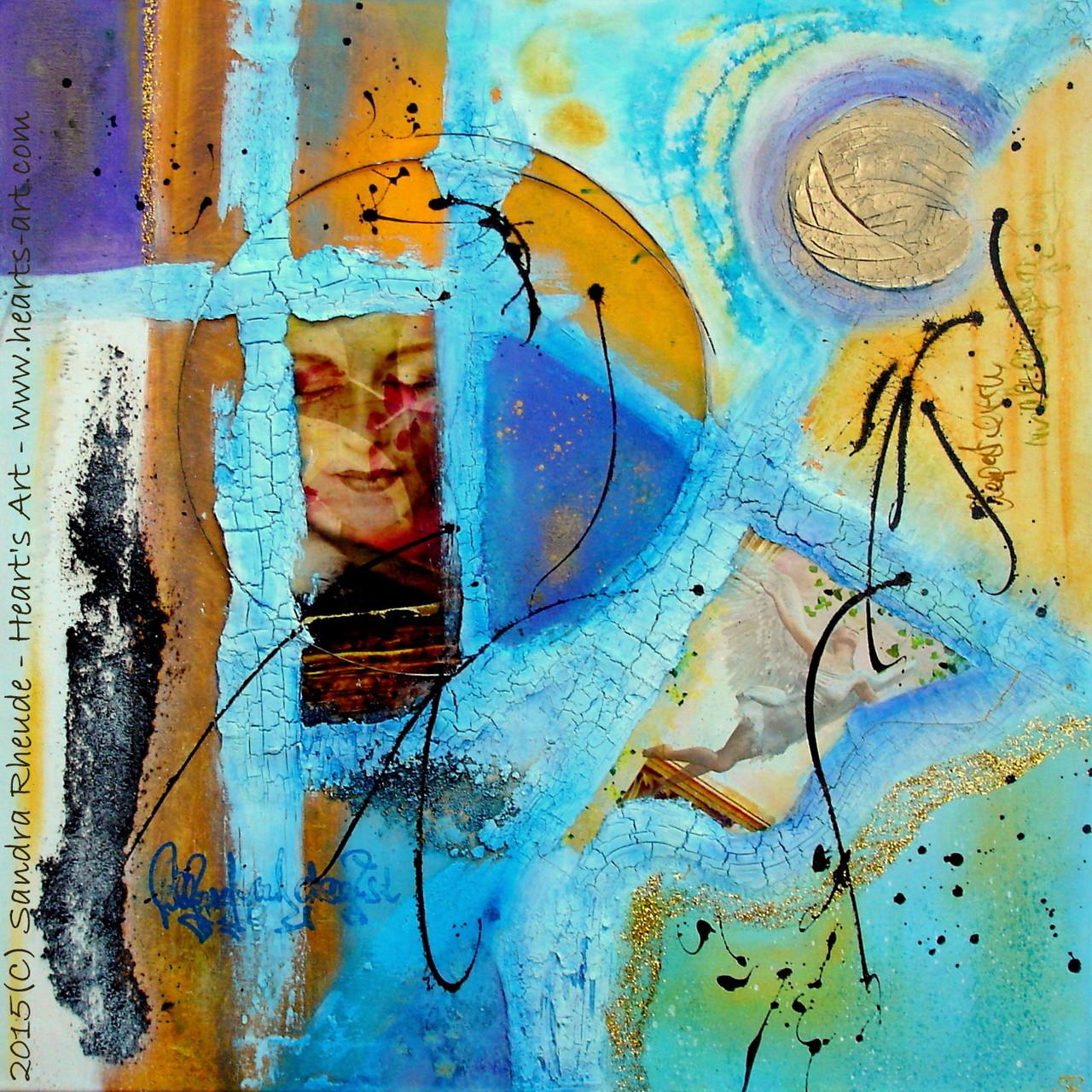 'Feld der Träume' - 2015/05 - Acryl/MixedMedia auf Leinwand - 70 x 70 cm - € 330
