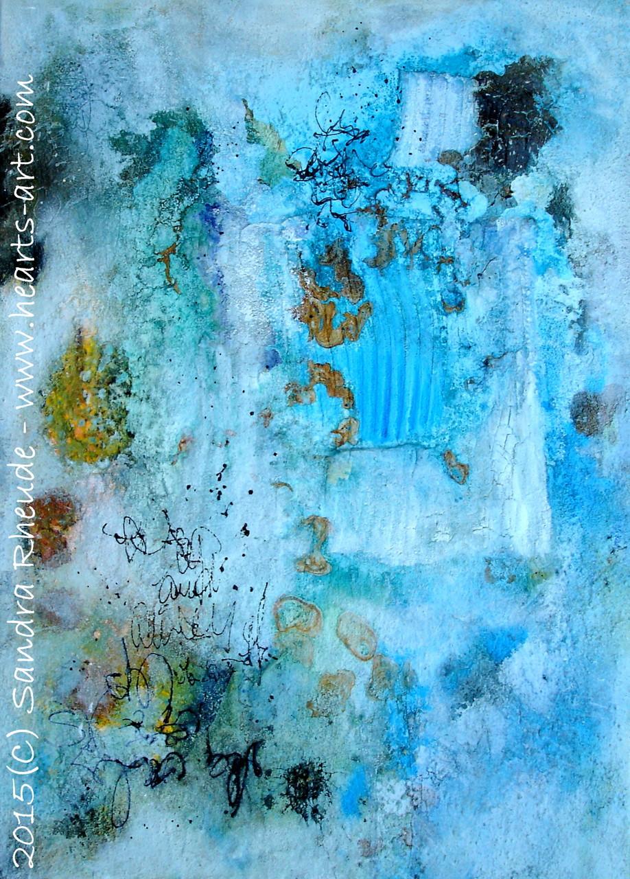 'Sommergefühl II' - 2015/26 - Acryl/MixedMedia auf Leinwand - 50 x 70 cm - € 330