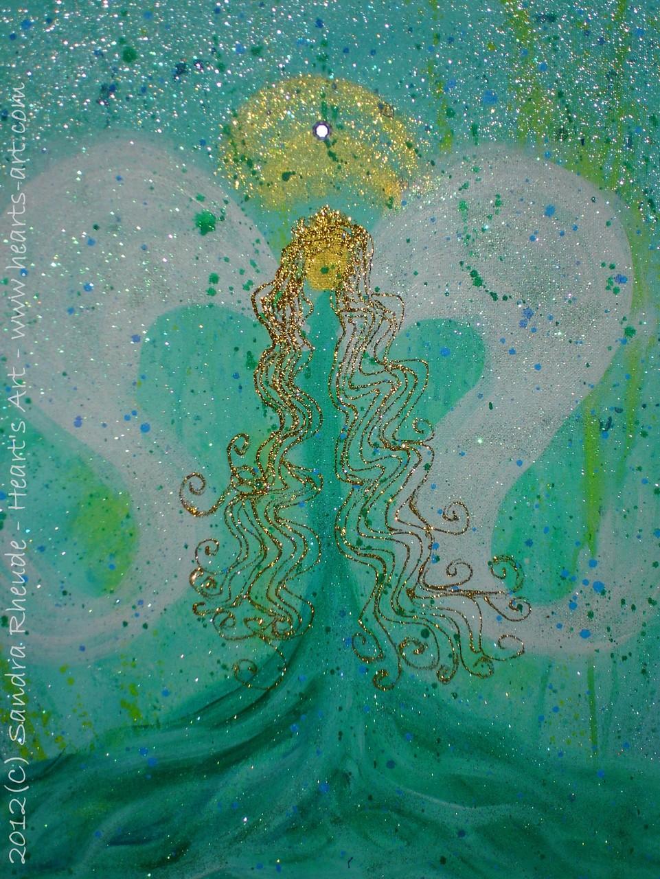 'Raphael' - 2012/3 - Acryl auf Leinwand - 40 x 50 cm - verkauft